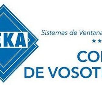 Carpintería de PVC Kommerling: Servicios de Atechnor Fabrica y exposición