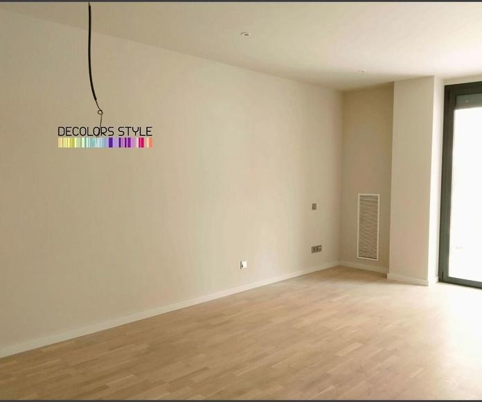 Interiores de pisos.