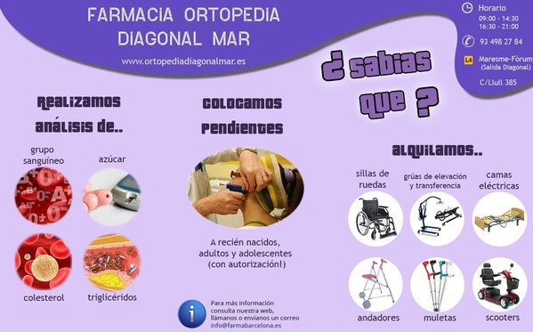 Farmacia Ortopedia Diagonal Mar