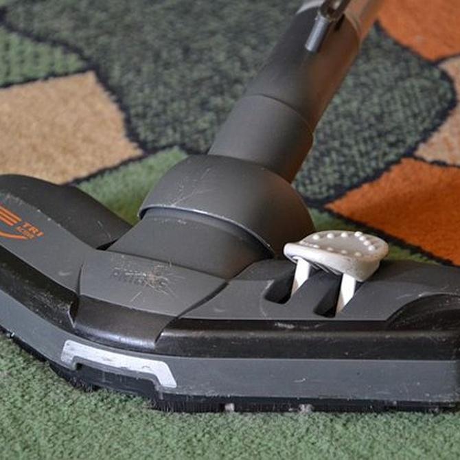 Trucos para la limpieza de alfombras