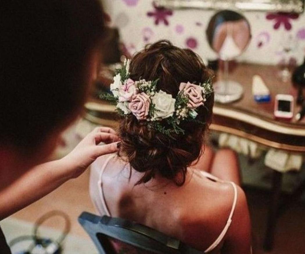 Tendencias en tocados para novias