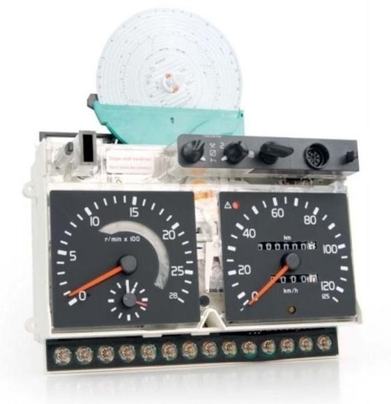 Tacograf Analogico Motometer para Volvo