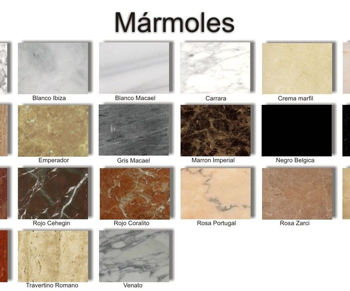 Mármoles: Productos y servicios de Mármoles y Granitos Interlap
