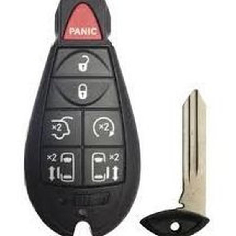 Llaves de coche Chrysler: Productos de Zapatería Ideal