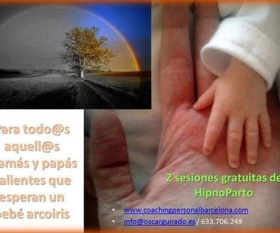 Sesiones gratuitas de HipnoParto para mamás que esperan Arco Iris