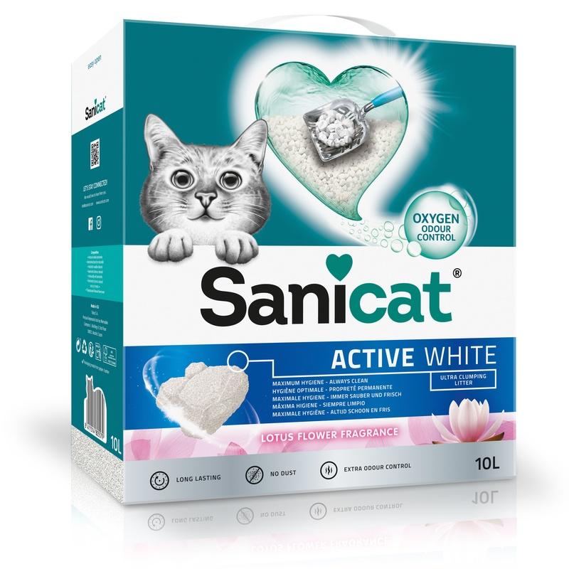 Sanicat active white