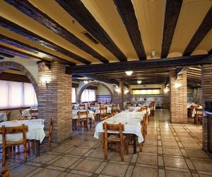 Restaurante con comida tradicioal