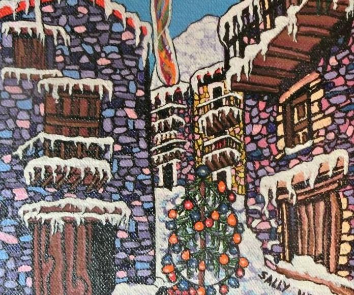 Navidad en el pueblo
