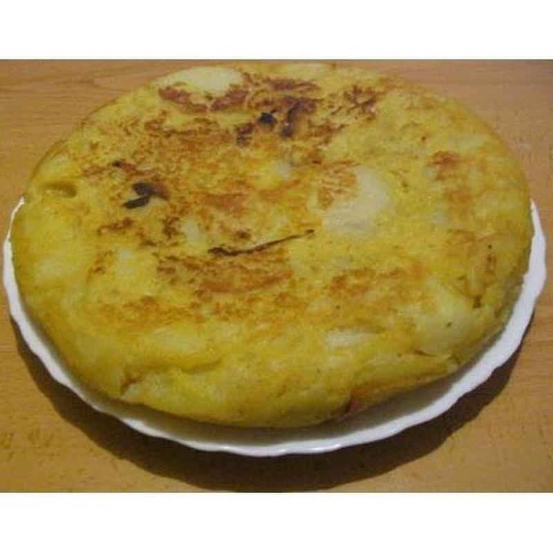 Tortillas: Carta de Cafetería Zalburdi