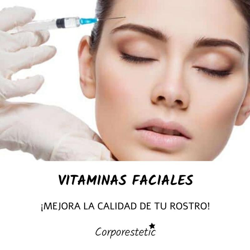 Vitaminas faciales: Tratamientos de Corporestetic