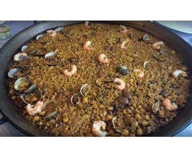 Dónde comer una buena paella en la playa de Gandía