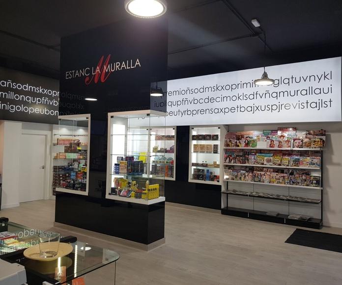 Expendeduría mixta en Reus: Servicios loterías y estancos de Radis Equip