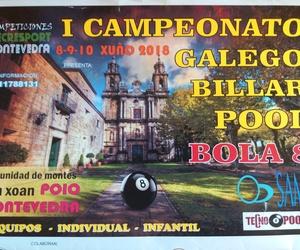 I Campeonato Galego Pool Bola 8