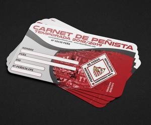 Carnet de socio de la Federación de Peñas Sevillistas
