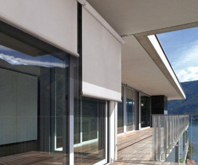 Cerramientos de cristal Alicante | Toldos Vicente