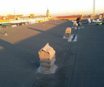 Impermeabilización de cubiertas:  de Impermeabilizaciones Jigón