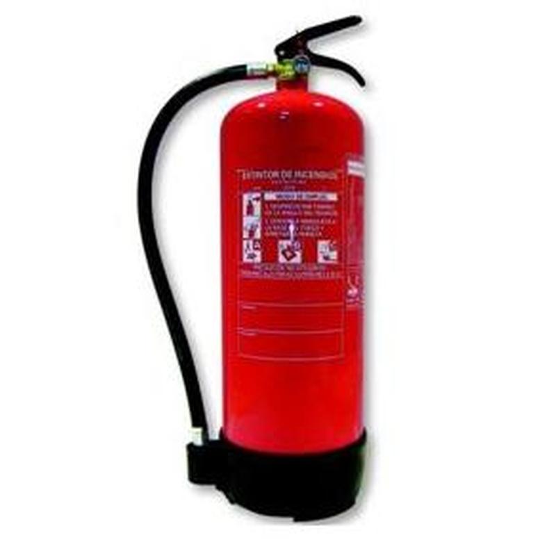 Extintor Polvo 12Kg: Servicios de Allintegra, S.L.