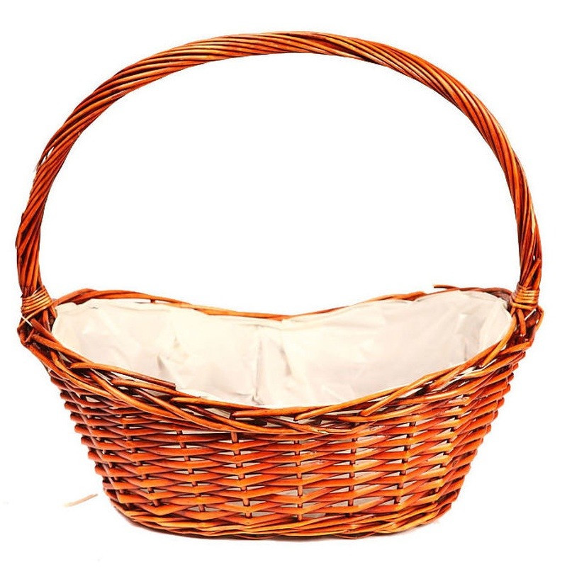 PANERA MIMBRE NATURAL (AL.46 CM. AN.50X30) COLOR:MARRON REF.:ZX2778M.13 PRECIO:9,00 €