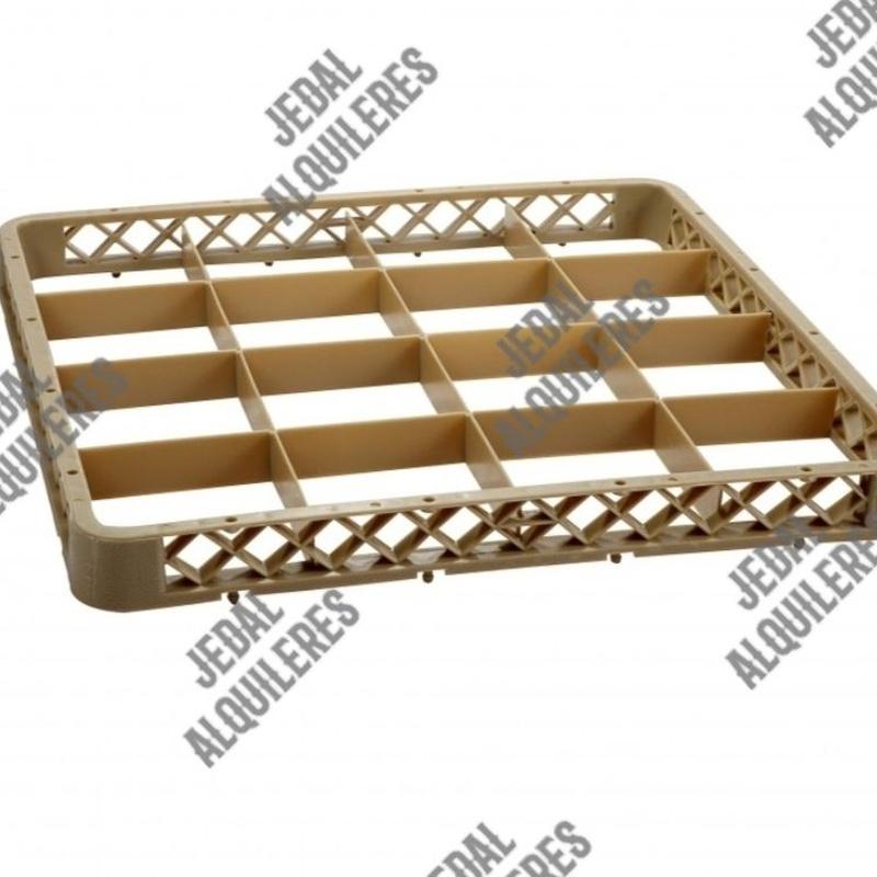 Extensor para cesta 16 compartimentos: Catálogo de Jedal Alquileres