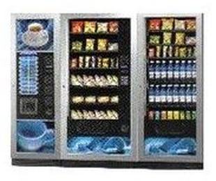 Máquinas combi café + snacks