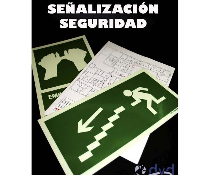 Señalización de seguridad: Serigrafia en Granollers de Dydplas Serigràfic