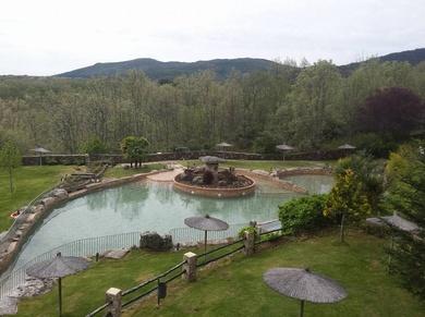 Piscina Complejo Hotel Spa Abadia de los Templarios