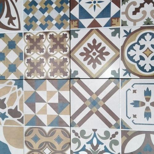 Gran variedad de azulejos
