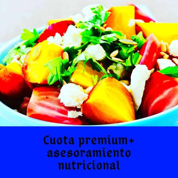 Cuota Premium + Asesoramiento Nutricional!