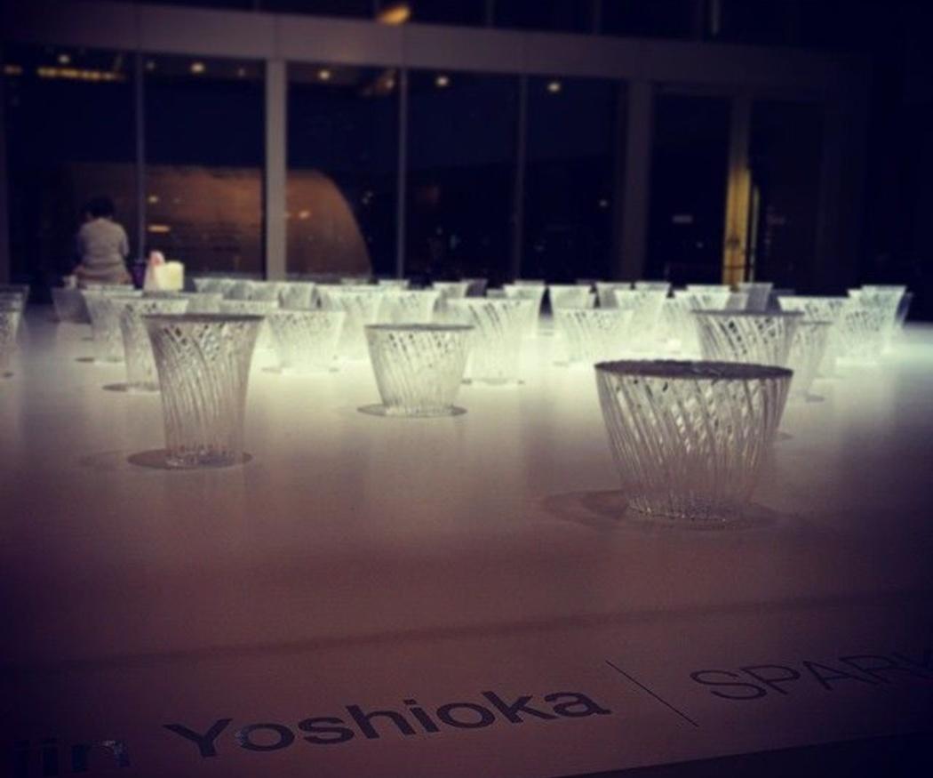 Diseño de eventos de Tokujin Yoshioka