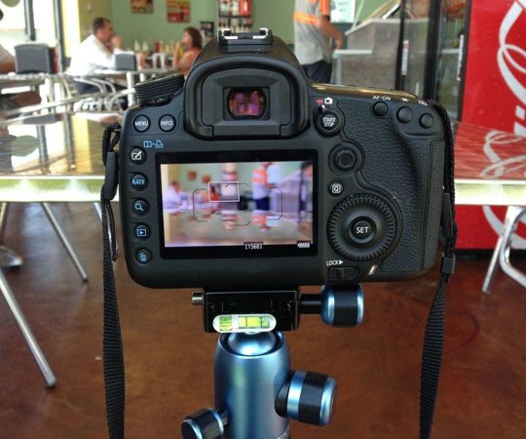 Grabación audiovisual con cámaras de fotos