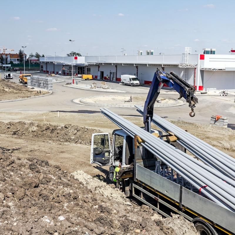 Transporte de materiales de construcción: Servicios de Transportes y Excavaciones Orotrans, S.L.