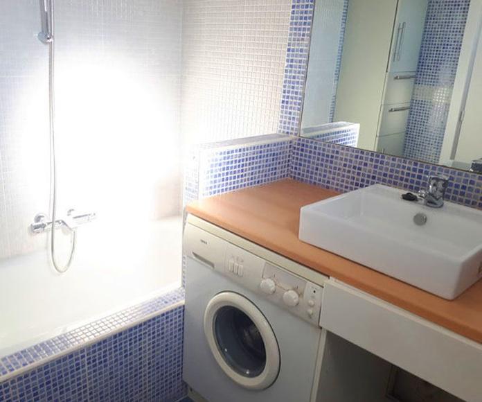 Baño Piso de Alquiler Barrio de Prosperidad Madrid