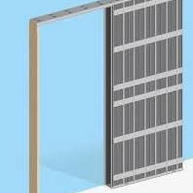 Estructura puerta: Productos y servicios de Almacenes Xesteira