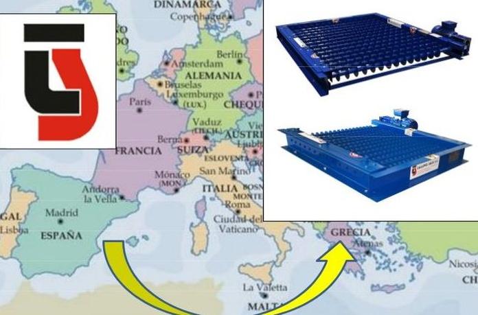 Exportación despalilladores  a Grecia