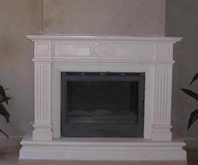 Revestimiento de chimeneas en piedra artificial