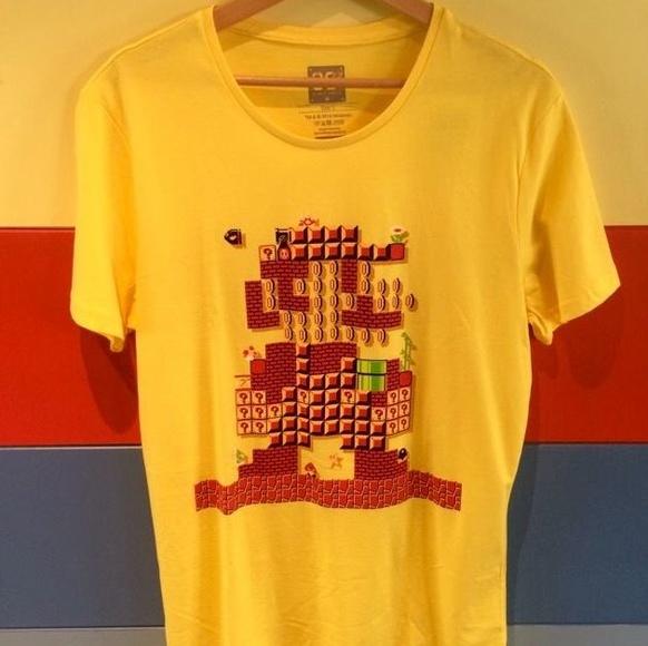 Camisetas videojuegos