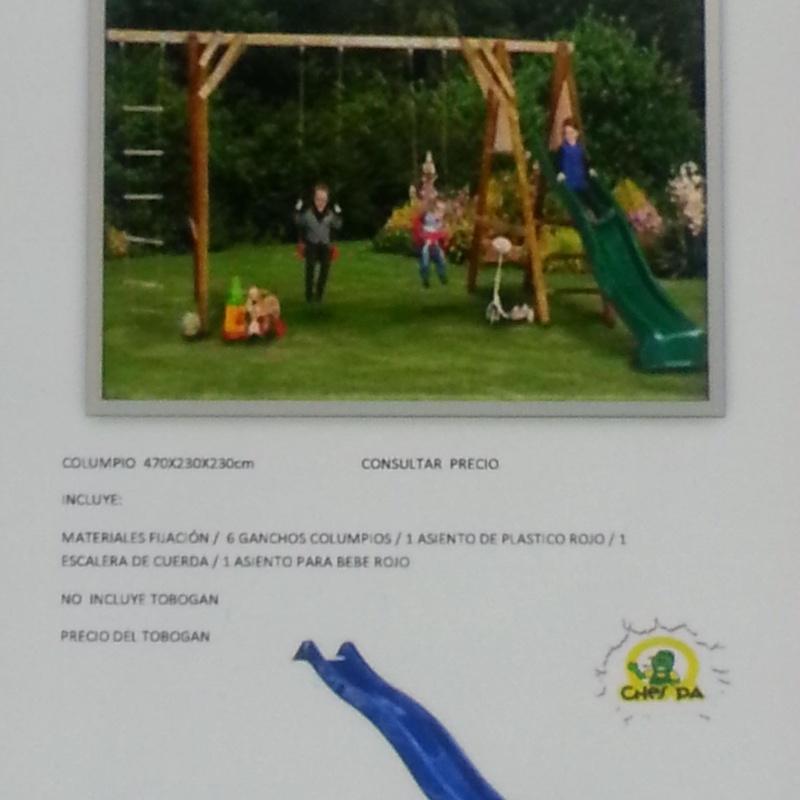 Juegos, Columpios, Accesorios: ¿Qué hacemos? de Ches Pa, S.L.