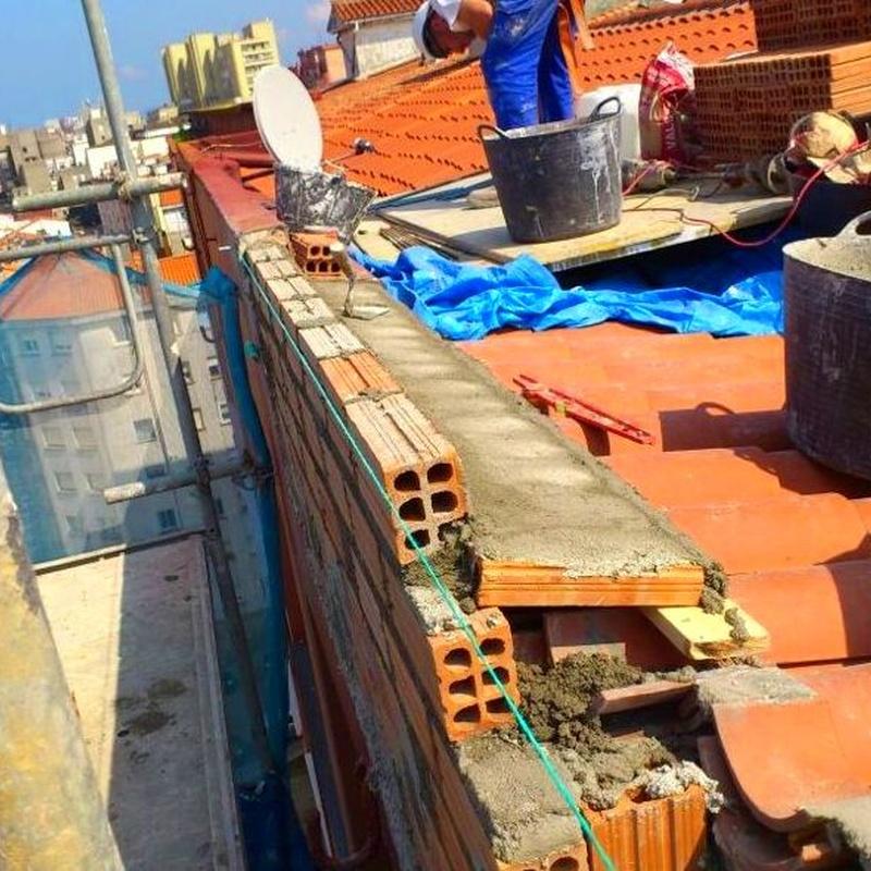 Trabajos de albañilería en Santander-Torrelavega