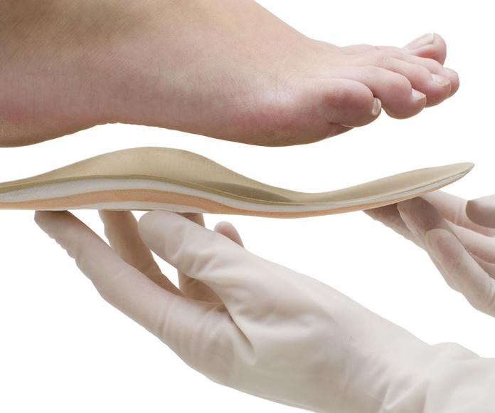 plantillas ortopédicas