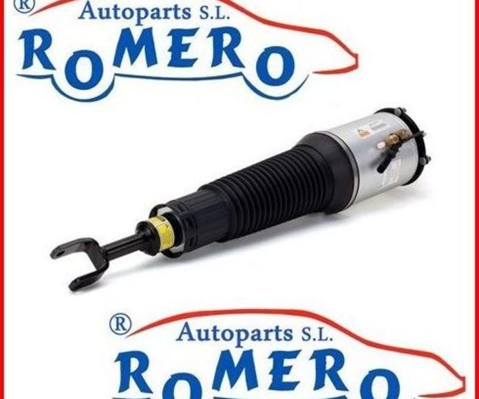 Amortiguador Audi A8 Sport : Suspensiones y vehículos de Romero Autoparts Zaragoza