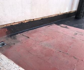 Mantenimiento tejados: Servicios de Tecons
