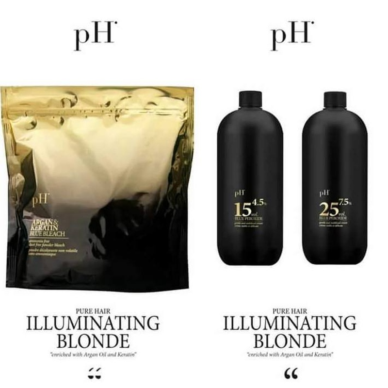 PH Illuminating Blonde: Catálogo de Rocío Rivera Estudio