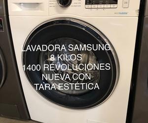 Lavadora samsung 8 kilos electrodomésticos con tara en pueblo nuevo