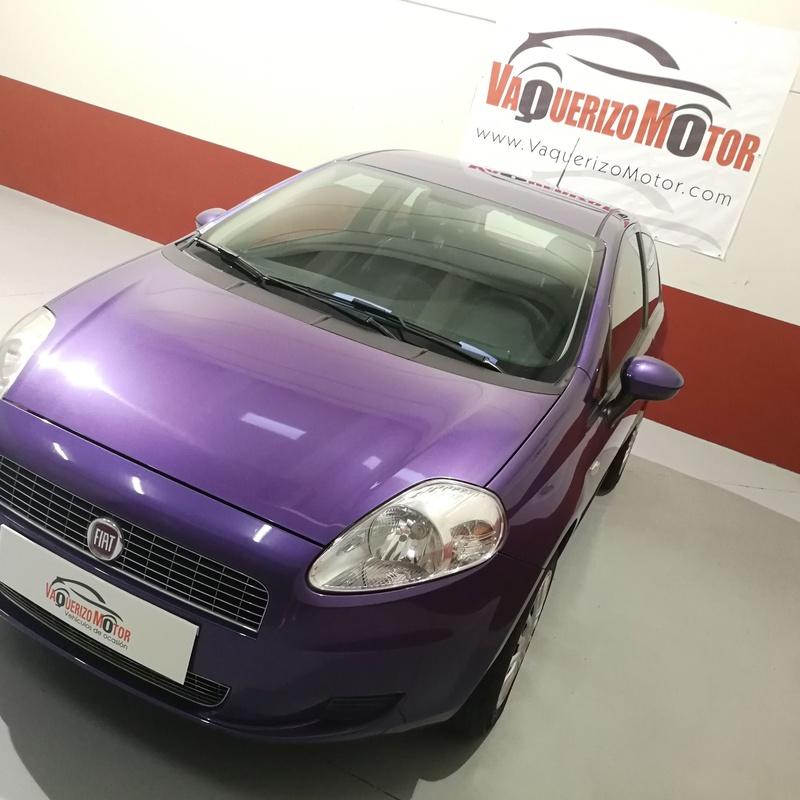 Fiat Punto 1.2 Active: SERVICIOS Y STOCK DE COCHES de Vaquerizo Motor
