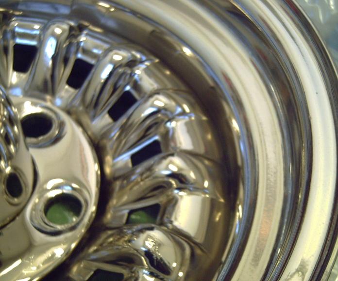 Corvette 1: Trabajos de Rebeca Pulidos y Cromados