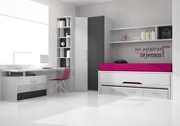 Dormitorio juvenil compuesto PN-02