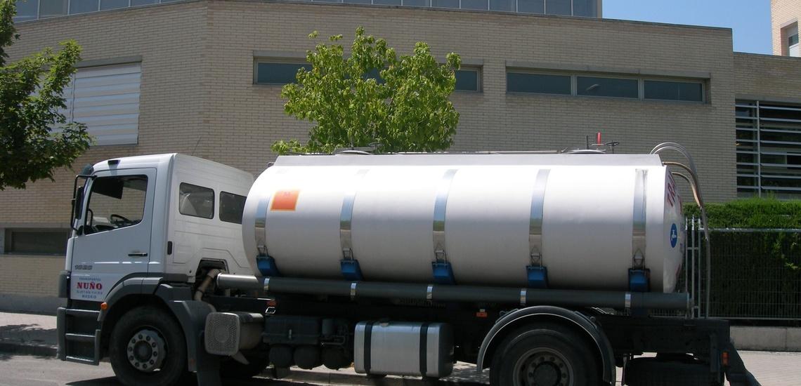 Para un servicio de agua en Madrid centro de calidad cuenta con Transportes Nuño