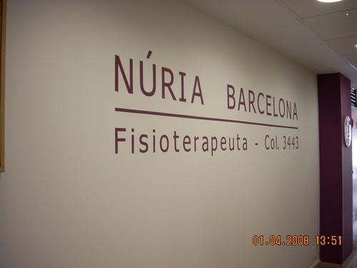 Centro de fisioterapia Núria Barcelona