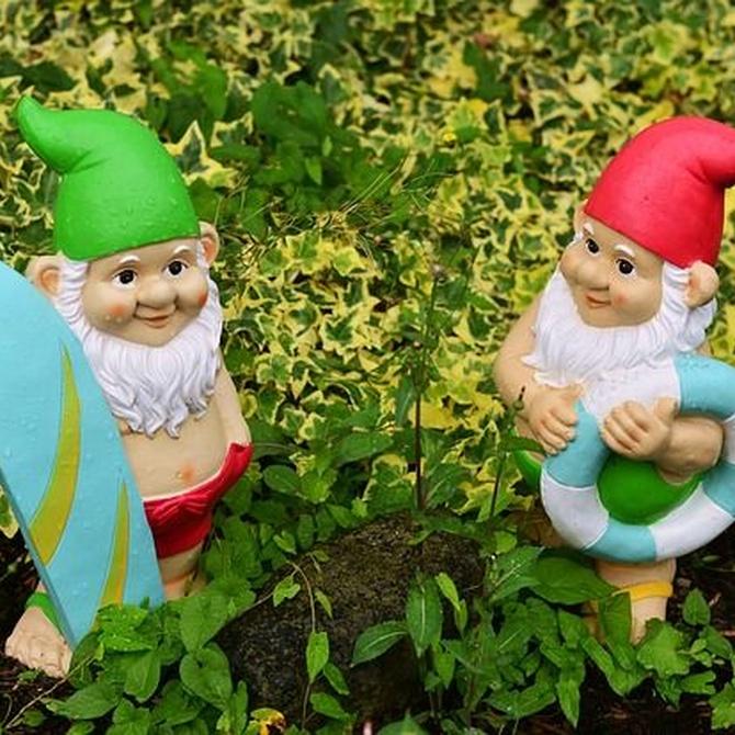 Los gnomos en el jardín