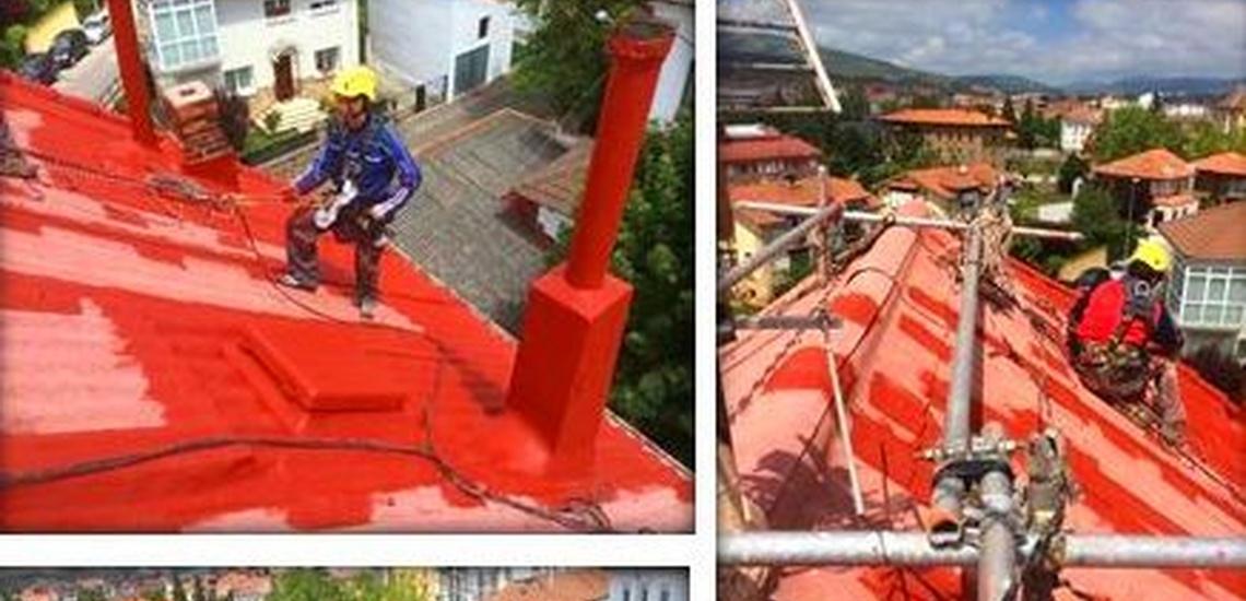 Reparación de tejados de uralita con bajo coste en Santander